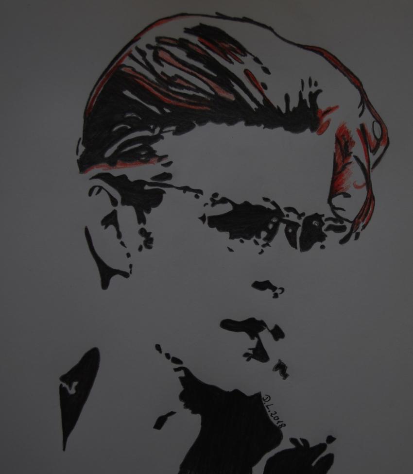 David Bowie by HamburgGirl